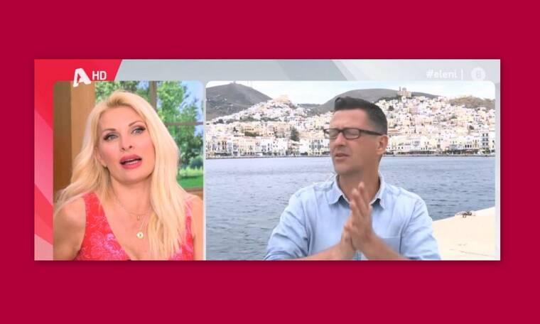 Ελένη Μενεγάκη: Την μπέρδεψαν με την Κορομηλά - Η επική αντίδρασή της on air! (Video)