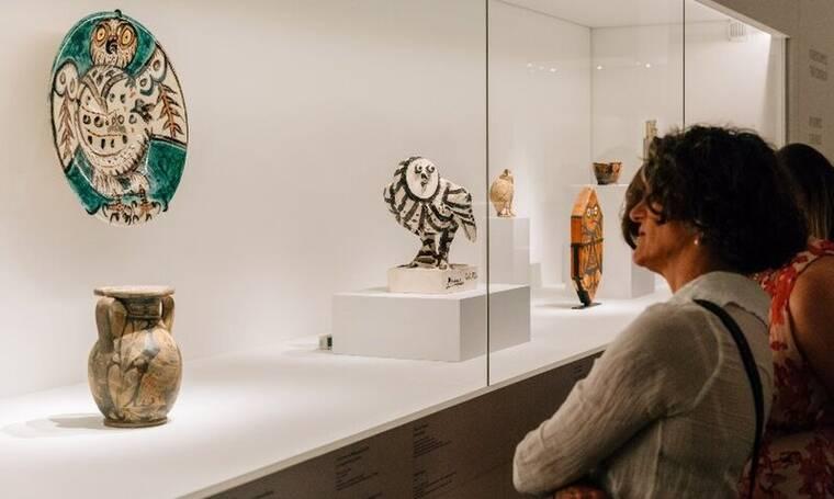 Πικάσο και Αρχαιότητα. Γραμμή και πηλός: Έκθεση υποψήφια για Διεθνές βραβείο Global Fine Art Awards
