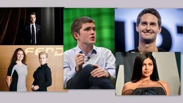 Αυτοί είναι οι πιο νέοι δισεκατομμυριούχοι στον κόσμο