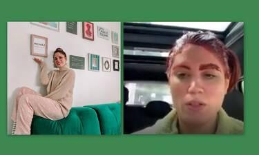 Μαίρη Συνατσάκη: Έβαψε τα μαλλιά της στη μέση του δρόμου - Δεν έχει ξαναγίνει! (Photos-Video)