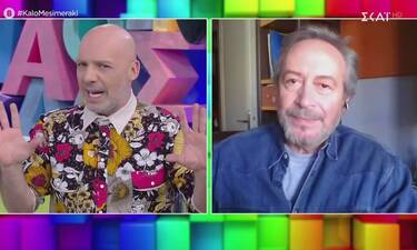 Γρηγόρης Βαλτινός: «Διαφωνώ κάθετα με το θέατρο στην τηλεόραση»