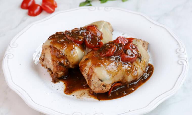 Κοτόπουλο caprese