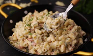 Mac 'n' Cheese Carbonara- Η συνταγή που θα λατρέψεις!