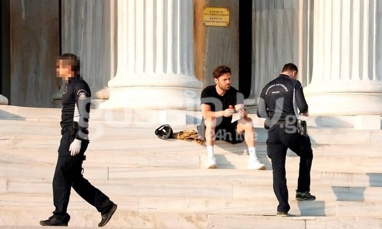 Ούτε ο Αργυρός δεν γλίτωσε από τον έλεγχο της Αστυνομίας! (Photos)
