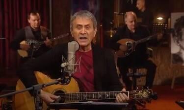 Mega: Στο σπίτι με τον Γιώργο Νταλάρα και τα τραγούδια του Μίκη Θεοδωράκη και του Βασίλη Τσιτσάνη!