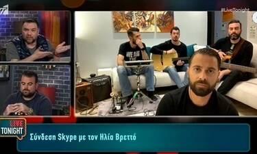 Ηλίας Βρεττός: «Το τροχαίο ατύχημα με έκανε να δω αλλιώς τη ζωή» (Video)