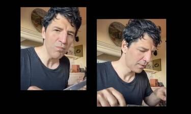 Ο αγουροξυπνημένος Σάκης Ρουβάς έφαγε πρωινό σαν... βασιλιάς! Δες τι τρώει κάθε μέρα! (Photos-Video)