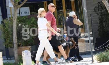 Τζώννυ Καλημέρης - Χριστίνα Κοντοβά: Ξεπέρασαν τον κορονοϊό και δεν σταματούν να κάνουν βόλτες!