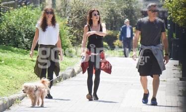 Μαρίνα Βερνίκου: Την εντοπίσαμε στο κέντρο της Αθήνας - Ποιοι την συνοδεύουν; (photos)