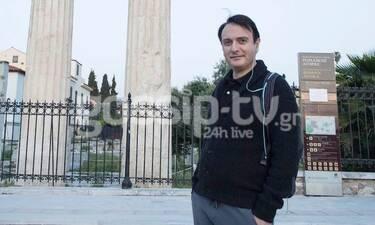 Γιώργος Γαλίτης: Μετά την καραντίνα σε περίπατο στο κέντρο της Αθήνας (photos)