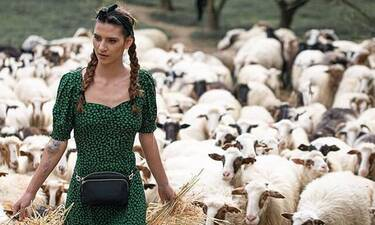 GNTM: Θα πάθεις πλάκα με τις νέες ημίγυμνες φωτό της αγρότισσας Μαρίας Μιχαλοπούλου (Photos)