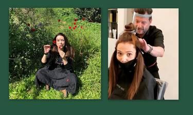 Θεαματική αλλαγή! Η Χριστίνα Αλεξανιάν πήγε στο κομμωτήριο με αυτά τα μαλλιά! Δες πώς έφυγε! (Pics)