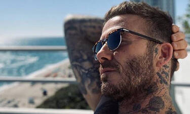 Νέες σοκαριστικές φωτογραφίες του Μπέκαμ: Χάνει τα μαλλιά του;