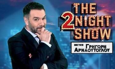 The 2night show: Δυνατή η επιστροφή του Αρναούτογλου στους πίνακες τηλεθέασης!