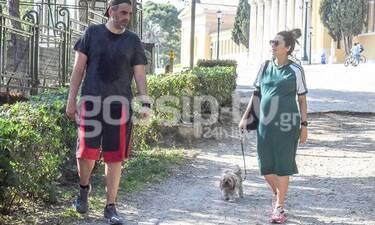 Νικολέτα Ράλλη: Πήγε βόλτα με τον σύντροφό της και είδαμε την κοιλίτσα της που φούσκωσε πολύ!