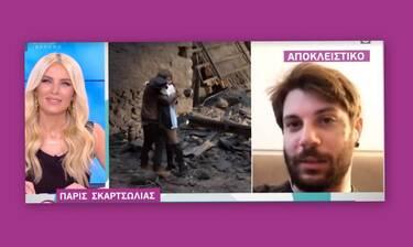 Πάρης Σκαρτσολιάς: «Έβγαλα ψυχοσωματικά λόγω της κατάστασης» (Video)