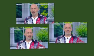 Καλό μεσημεράκι: «Κάγκελο» ο Μουτσινάς - Ποιος ήταν στην τηλεφωνική γραμμή; (Photos-Video)