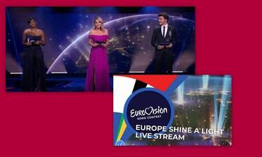 Eurovision 2020: Δείτε τον μεγάλο τελικό του Europe Shine a Light! (Photos-Video)