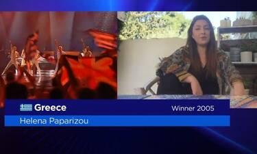 Eurovision 2020: Έτσι εμφανίστηκε η Έλενα Παπαρίζου στο Europe Shine A Light (Photos-Video)