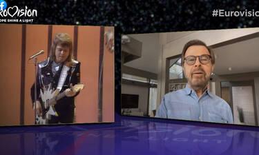 Eurovision 2020: Η πιο συγκινητική στιγμή στο Europe Shine a light με τον Björn Ulvaeus των Abba!