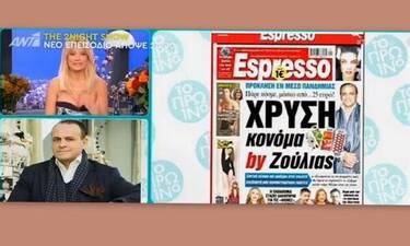 Ξέσπασε ο Βασίλης Ζούλιας: «Θα έπρεπε να αγοράζουμε όλοι μάσκες από ελληνικές επιχειρήσεις» (Video)