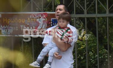 Σωτήρης Κοντιζάς: Ο κριτής του MasterChef στις πιο τρυφερές στιγμές με τον γιο του (photos)