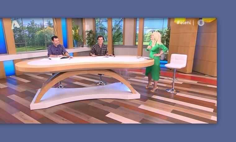 Ελένη Μενεγάκη: Καρέ καρέ το σέξι ατύχημά της on air! (Video & Photos)
