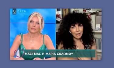 Μαρία Σολωμού: Η νέα δήλωσή της για τη Θεία Κοινωνία (Video)