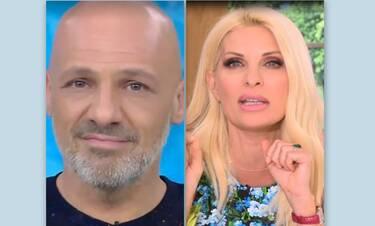 Το σοκ του Μουτσινά με την ανακοίνωση της Ελένης Μενεγάκη ότι φεύγει από την τηλεόραση (video)