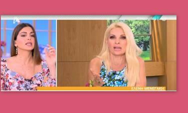 Σταματίνα Τσιμτσιλή: Δείτε πώς σχολίασε την αποχώρηση της Ελένης Μενεγάκη από την τηλεόραση (Videos)