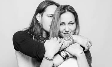 Πηνελόπη Αναστασοπούλου: Η δημόσια ερωτική εξομολόγηση στον σύζυγό της για τη γιορτή του (photos)