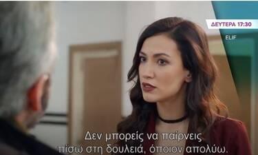 Elif: Ο Τζεβαχίρ έρχεται σε σύγκρουση με την Αρζού μπροστά στις εργάτριες! (Video)