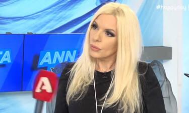 Αννίτα Πάνια: Έξαλλη on camera η παρουσιάστρια! «Είστε αδιάκριτοι…» - Τι συνέβη;