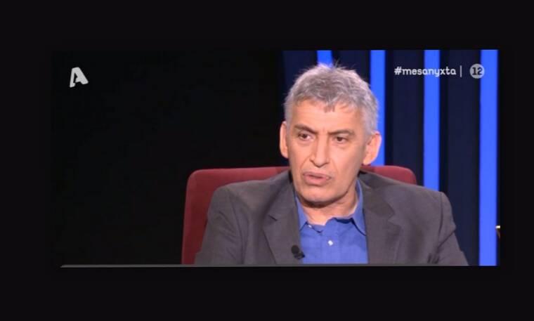 Μεσάνυχτα: Η συγκινητική εξομολόγηση του Παναγιώτη Φασούλα για το πρόβλημα υγείας του γιου του