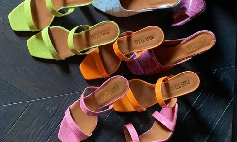 Δέκα ζευγάρια mules που θα σε κάνουν να ξεχάσεις όλα τα άλλα καλοκαιρινά παπούτσια
