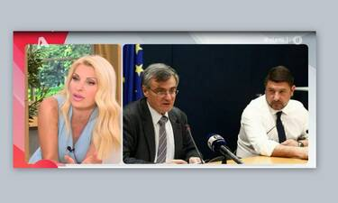 Ελένη Μενεγάκη: Το μήνυμά της on air στον Σωτήρη Τσιόδρα! (Video)