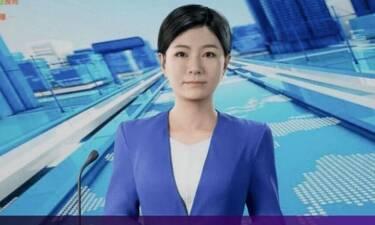 Η πρώτη 3D «κυρία των ειδήσεων» στην Κίνα