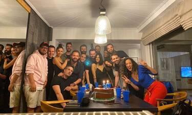 Γιώργος Παπαδόπουλος: Η τούρτα γενεθλίων με τον γιο του και οι καλεσμένοι (pics&vid)