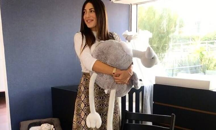 Φλορίντα Πετρουτσέλι: Οι πρώτες φώτο με το νεογέννητο και την κόρη της στο σπίτι!