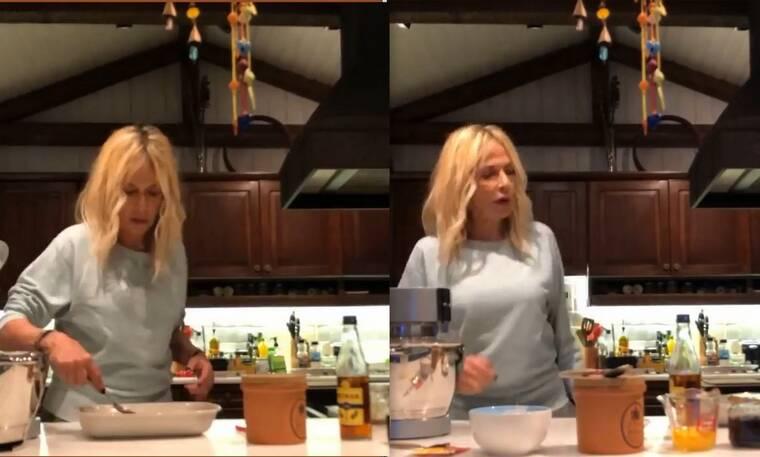 Άννα Βίσση: Έφτιαξε την πιο λαχταριστή πάστα φλώρα και μας έδωσε τη συνταγή