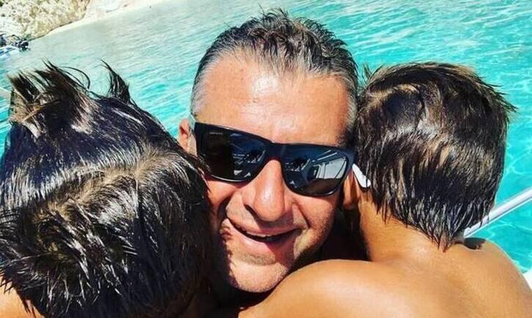 Γιώργος Λιάγκας: Για βουτιές με τους γιους του! Δεν πάει ο νους σου πόσο έχουν μεγαλώσει!
