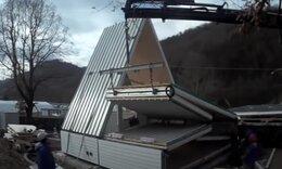 Το σπίτι που χτίζεται σε έξι ώρες και κοστίζει 30.000 ευρώ! (video)