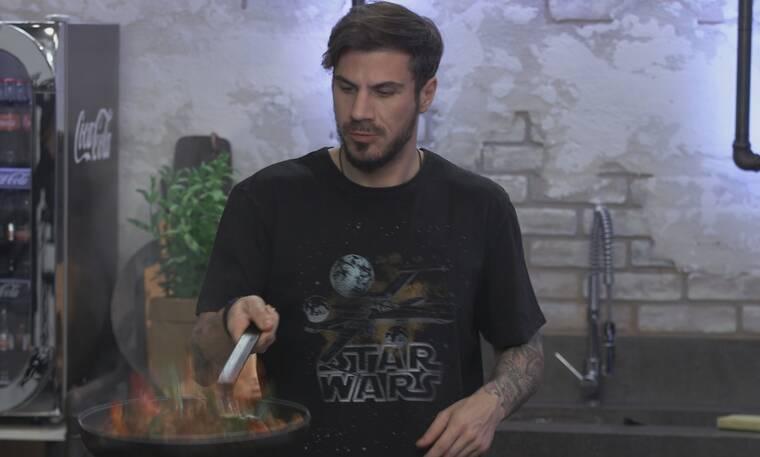 Kitchen Lab: Απίστευτες μυρωδιές και γεύσεις στα νέα πιάτα του Άκη Πετρετζίκη!
