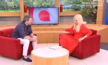 Αλέξανδρος Μπουρδούμης: Τα συγκινητικά λόγια για την αποχώρηση της Ελένης από την τηλεόραση