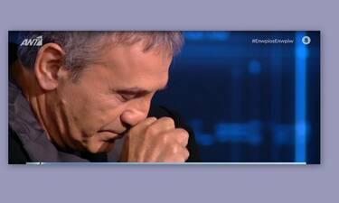 Ενώπιος Ενωπίω: Ο Γιώργος Νταλάρας λύγισε με το βίντεο on air για τον Λαυρέντη Μαχαιρίτσα