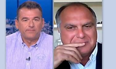 Στέφανο Σαρτίνι σε Γιώργο Λιάγκα: «Είσαι πολύ κουτσομπόλης» - Τι συνέβη; (video)