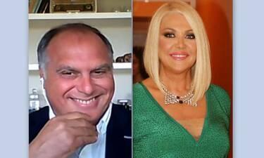 Στέφανος Σαρτίνι: «Δεν θα ξανασυνεργαζόμουν με τη Ρούλα Κορομηλά» (video)