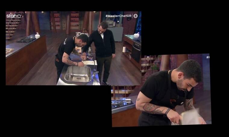 MasterChef: Άφωνος ο Κουτσόπουλος όταν είδε το γούρι του Σταυρή! Η απίστευτη ατάκα του!