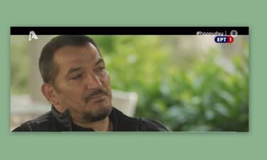 Πύρρος Δήμας: Λύγισε on camera μιλώντας για τις τελευταίες στιγμές της γυναίκας του