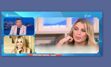 «Χείμαρρος» η Χριστίνα Παππά κατά της Σπυροπούλου:«Πήρα τον Λάτσιο να τη βάλει στον ΑΝΤ1»